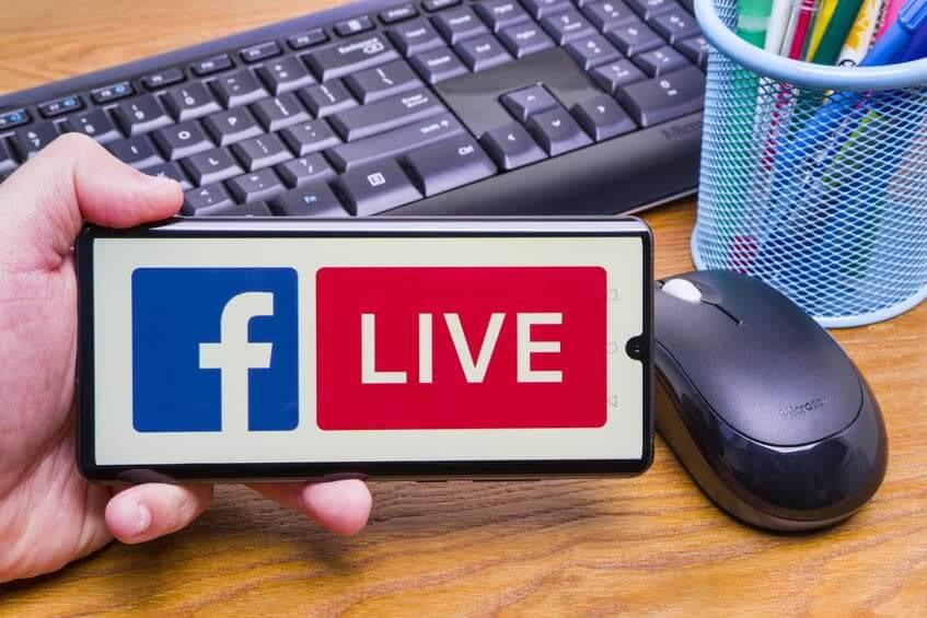 video facebook live